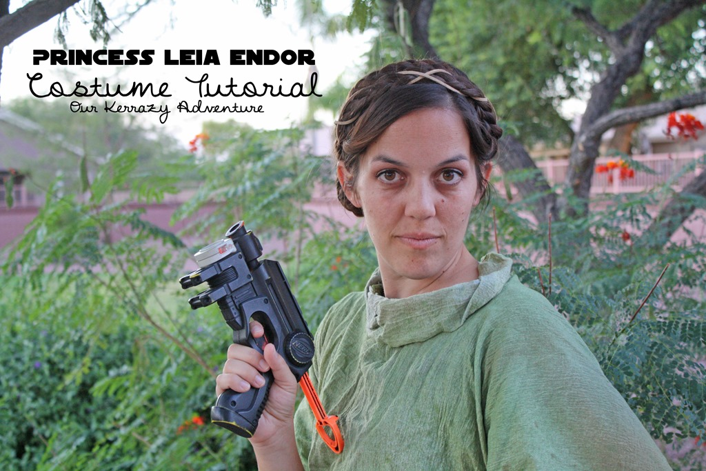 As in Slave Leia. Not really my style. I told them I was going to be Endor Leia. I have already been the traditional Leia and I wanted to switch it up.  sc 1 st  Our Kerrazy Adventure & DIY Endor Leia Costume Tutorial - Our Kerrazy Adventure