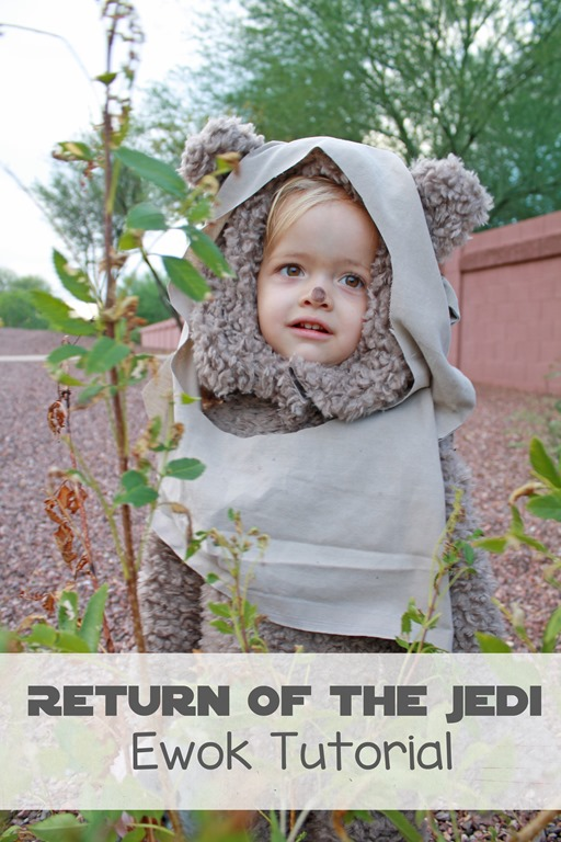 Baby ewok costume tutorial our kerrazy adventure baby ewok costume tutorial solutioingenieria Gallery