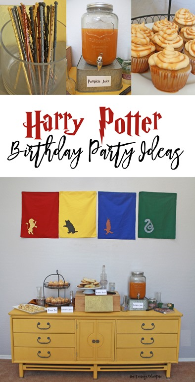 Harry Potter Birthday Party Ideas Our Kerrazy Adventure