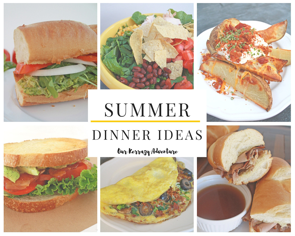 summer dinner ideas our kerrazy adventure