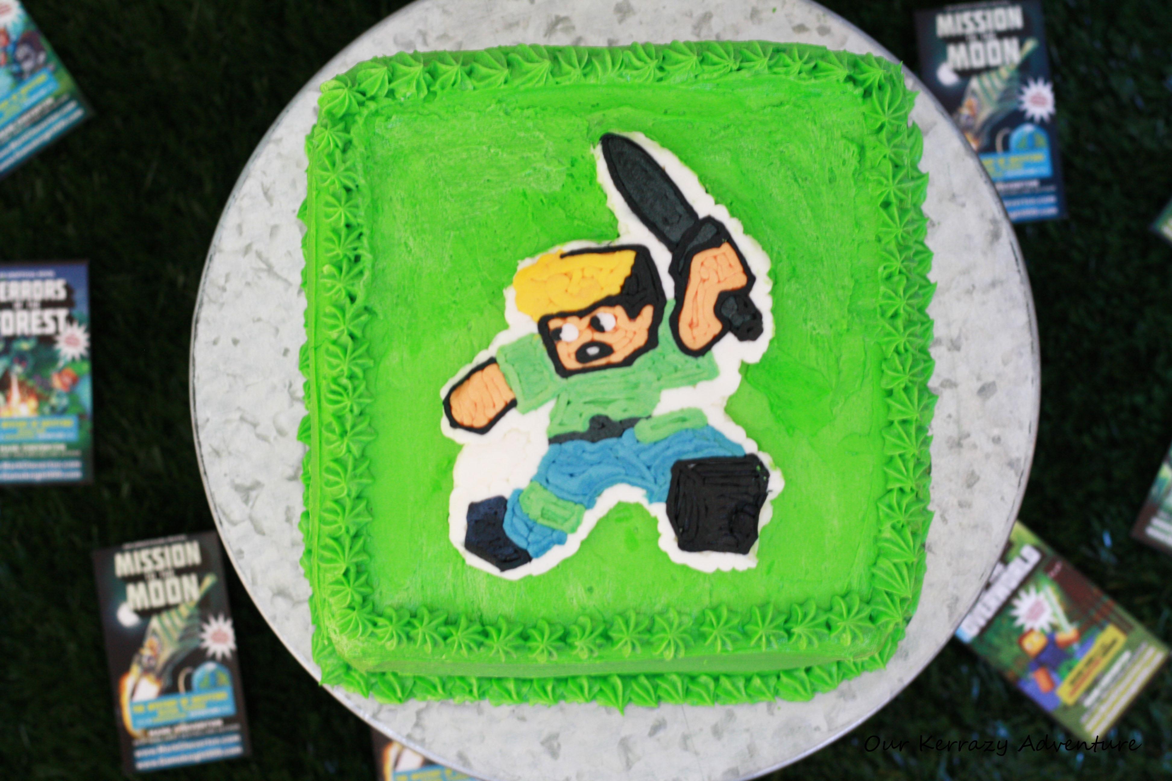 Game Knight 999 Birthday Cake Ideas Diy Minecraft Cake Our