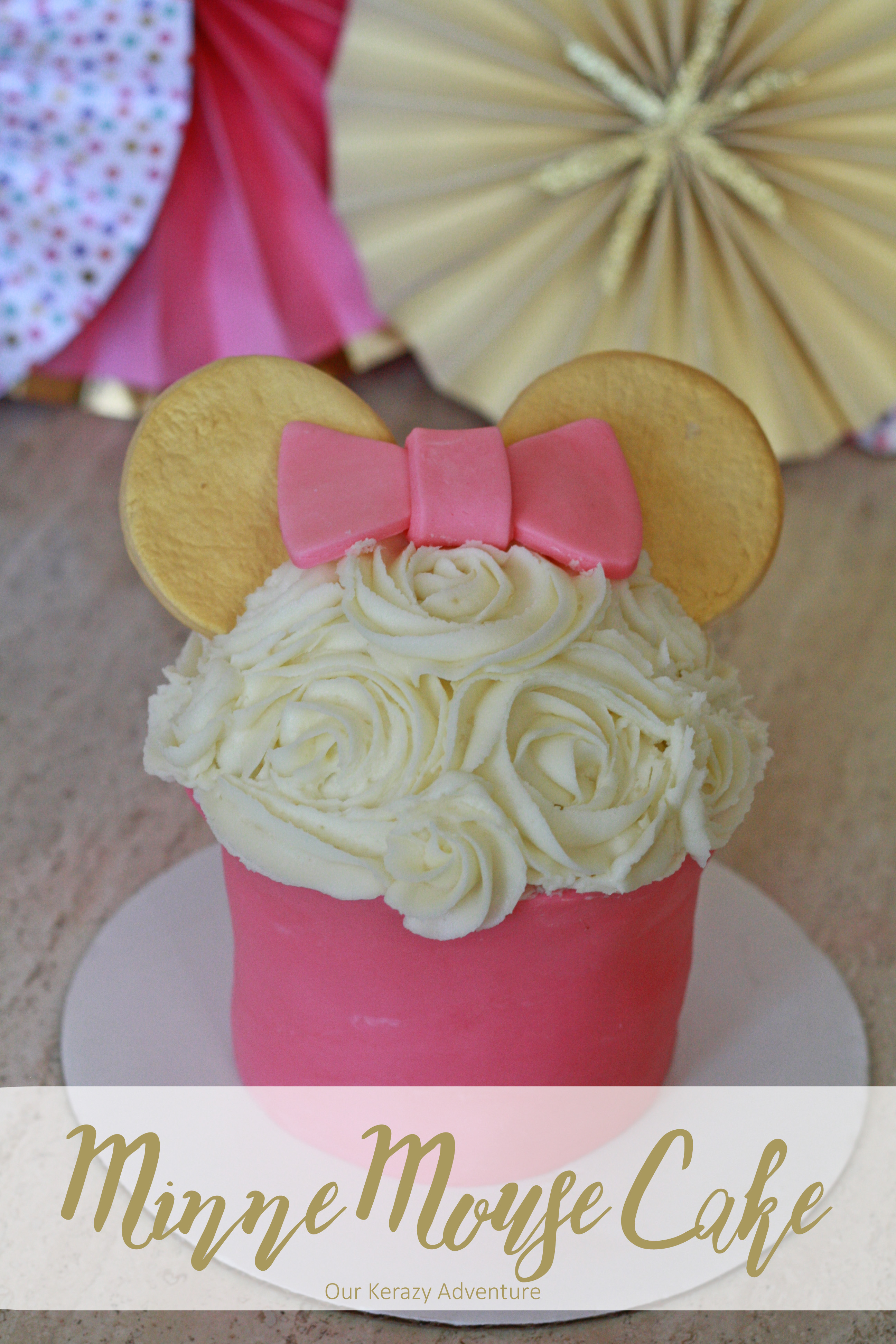Easy Minnie Mouse Cakes To Make